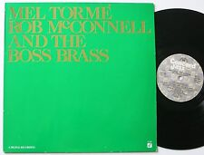 MEL TORME AND THE BOSS BRASS ORIG CONCORD DIGITAL RECORDING VOCAL JAZZ LP MINT-