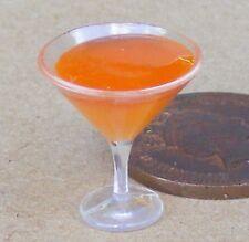 1:12 SCALA KILIMANGIARO da cocktail in una casa di bambole di vetro in miniatura Bere CT25