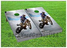 VINYL WRAPS Cornhole Boards DECALS Motocross Bike Bag Toss Game Stickers 832