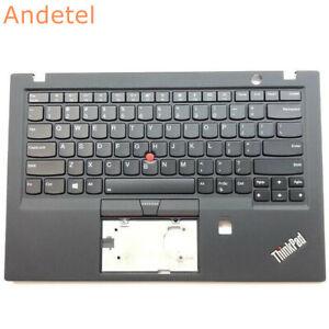 Lenovo ThinkPad X1 Carbon Gen 5th 20HR 20HQ Palmrest Cover US Keyboard Backlit