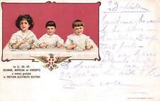 A7405) PASTINA GLUTINATA BUITONI DI SANSEPOLCRO FORNITORI REAL CASA. VG NEL 1908
