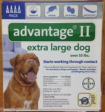 K9 Advantage II / 100 Flea Lice Medicine XL Large Dogs Pack K-9 4 Month Supply
