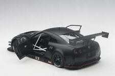 Autoart NISSAN GT-R NISMO GT3 MATT BLACK 2015 COMPOSITE MODEL 1/18 New In Stock