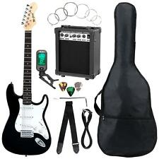 41433 - Mcgrey Rockit Chitarra elettrica Set completo ST Black