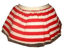 Plus Size Red & White Striped Tutu Skirt Fancy Dress Size 16-22