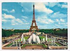 paris  , la tour eiffel , les jardins du palais de chaillot et champ-de-mars