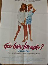 """[K3] """" Gar NESSUN SEX PIÙ? Casual Lea Thompson """" Mary GRANDE LOCANDINA FILM DIN"""