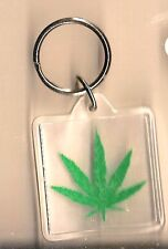 MARIJUANA/CANNABIS/POT/ LEAF KEY CHAIN NEW