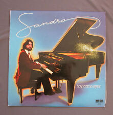 "Vinilo LP 12"" 33 rpm SANDRO - HOY COMO AYER"