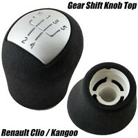 GEAR STICK SHIFT TOP HEAD KNOB TOPPER HANDLE 5 SPEED FOR RENAULT CLIO KANGOO