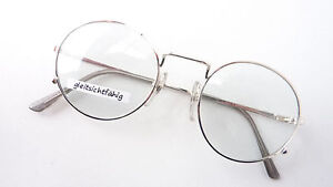 Gambini Professor Glasses Frames Silver Round Form Lightweight Size S