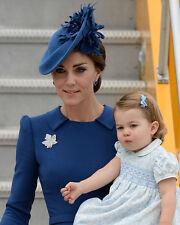 Catherine, Duchess of Cambridge & Princess Charlotte UNSIGNED photo - H5794
