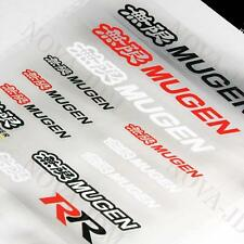JDM Mugen Reflective Car Door Window Vinyl Decal Sticker For Honda - 14pcs (Set)