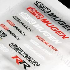 JDM Mugen Reflective Car Door Window Vinyl Decal Sticker For Honda - 14pcs (Set)
