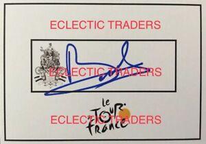 Benoit Cosnefroy SIGNED Tour de France cycling card. Bike Merckx, Sagan, bike