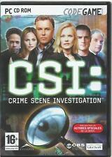 CSI: Crime Scene Investigation (PC) AVENTURA GRAFICA CASTELLANO