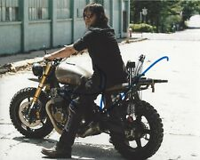 ACTOR NORMAN REEDUS SIGNED 'THE WALKING DEAD' 8x10 PHOTO 4 W/COA DARYL DIXON