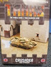 TANKS British Crusader Tank Expansion Galeforce Nine War Board Game New!