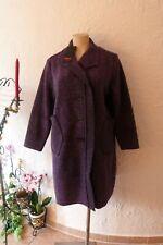 MEXXOO Mantel 46 48 50 EG NEU! lila 80 % Wolle Stretch LAGENLOOK
