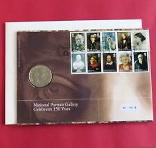 2006 SHAKESPEARE AND THE PORTRAIT GALLERY MEDALLIC COIN COVER