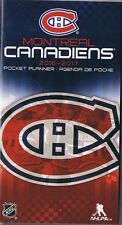 MONTREAL CANADIANS  2016-2017 2 YEAR POCKET PURSE CALENDAR AGENDA PLANNER BOOK