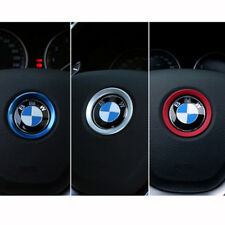 Red Steering Wheel Center Logo Decoration Ring For BMW 1 3 5 7 Series M3 GT5 X5