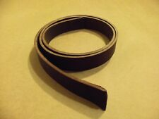 """1 1/2"""" #2 12/13 oz Brown English Bridle Belt Blanks 54"""" - 60"""" Seconds (Lot Of 5)"""
