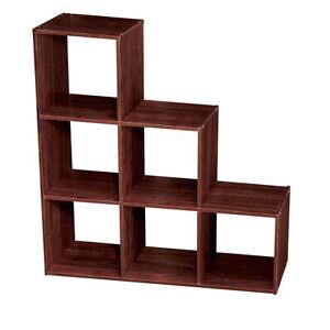 ClosetMaid 1045 3 Tier Wooden Cubeical Organizer, Dark Cherry
