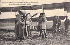 Seltene Foto-AK 1913@Deutsches Flugzeug landet irrtüml. in Arracourt/Luneville/F