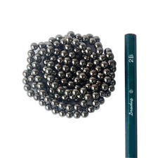 200 STRONG MAGNETS 5mm Black Gray Neodymium Spheres Balls - Free Shipping