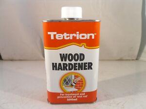 Wet Rot Wood Hardener Treatment 500ml TWH500 Tetrion