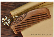 EMPTY PERSON@ Old Peach Wood Comb Lady Hair Comb Mens Beard Comb High Quality
