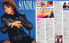 Ein interessanter Sandra Cretu Bericht Clip für Deine Sammlung DIN A3