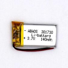 3.7 V 140mAh 301730 Li-Polymer Cell Rechargeable Battery Li-ion LiPo for GPS