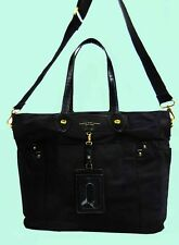 MARC By Marc Jacobs ELIZ-A-BABY PRETTY Nylon Black Convertible Tote Bag $348.00
