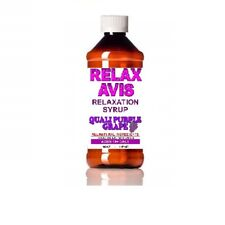 Grape Purple 4 ounce Relaxavis Nutritional Relaxation Syrup