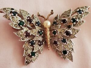 butterfly pins brooches