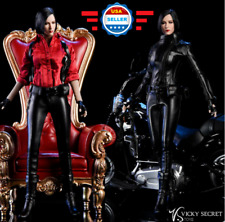 1/6 Ada Wong Resident Evil Leather Suit Set for 12'' Female Body Doll Accessory