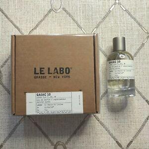 Le Labo Gaiac 10 3.4oz Unisex Eau de Parfum New in Box Sale
