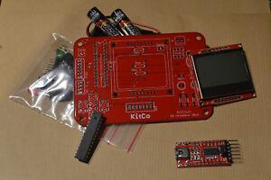 Kitco Coquelicot- Kit electronique Arduino Console jeu video Atmega Souder Rouge