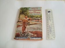 Old fishing India Bombay Hints Fly Fishing Fly tying Lt.Col.Phayre fishing book