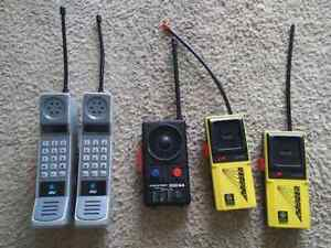 Vintage Walkie Talkie's Parts Only Ranger AT&T Power Tronic
