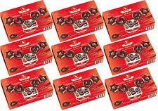 WEISS 9x 500g Zarte Lebkuchen Herzen Sterne Brezeln mit Zartbitter 4,5 Kg