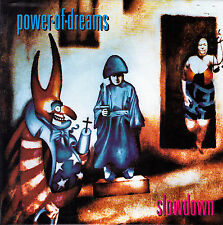 """POWER OF DREAMS - SLOWDOWN + FATHERLAND SINGLE 7"""" GERMANY 1992 EXCELLENT COND."""