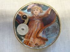 lovely antique music box manivelle childs toy tinkles auld lang syne 1890s old