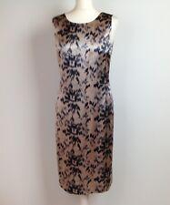 Day by Birger et Mikkelsen Dress UK Size 12 Womens Blue Taupe Shift