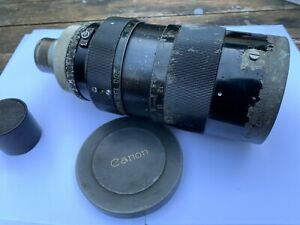 Canon 45-200mm F2.8 (C35) (1960) Extremely Rare Lens Arri Standard Mount #10153