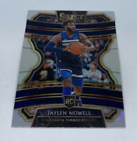 2019-20 Select CONCOURSE Timberwolves Silver Prizm Refractor JAYLEN NOWELL #44