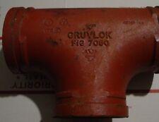 "Gruvlok 4"" ""Tee"" Figure 7060 New"