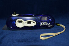 Vintage Polaroid Blue I-Zone Pocket Point & Shoot Instant Film Camera Retro